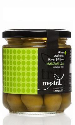 masline verzi manzanilla cooperativa cambrils mestral