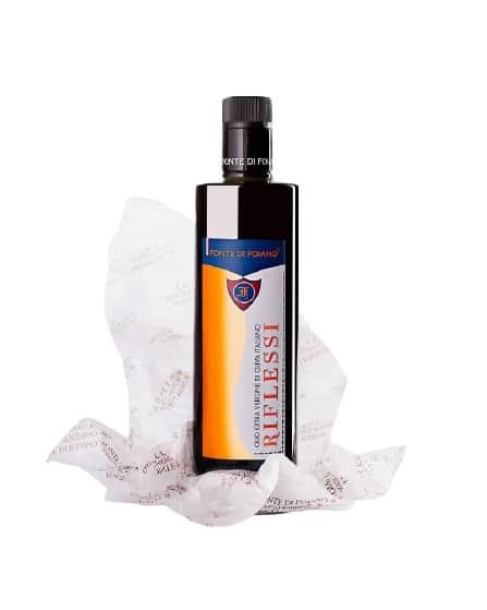 ulei de masline extravirgin 500ml fonte di foiano riflessi